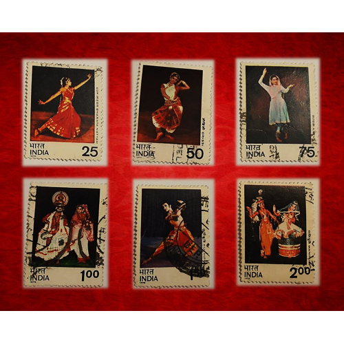 DANCE OF INDIA .... COMPLETE SET