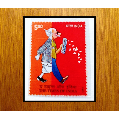 THE TIMES OF INDIA 2013 MINT STAMPS